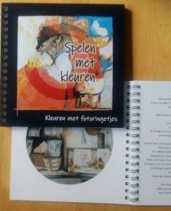 fotoboekje kleuren met fotoringetjes janny buijs spelen met kleuren